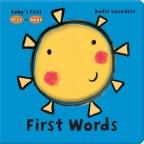 First Words (Peek-a-Book)
