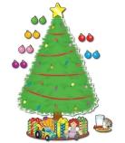 Big Christmas Tree Set
