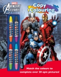 Avengers Assemble Copy Colouring Book