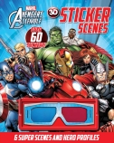 Avengers Assemble 3D Fold-Out Sticker Scene