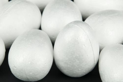 Decofoam Egg 68MM x 25                                                                               - Arts & Crafts