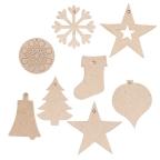 Papier Mache Christmas Decorations