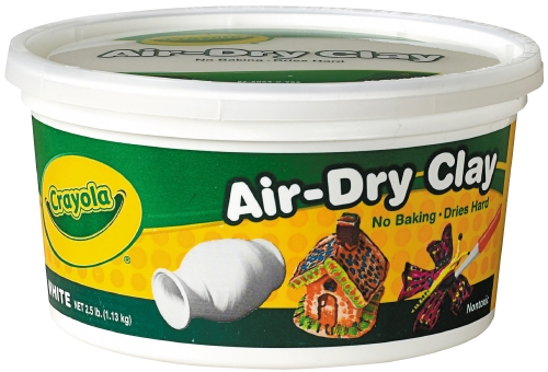 Crayola Air-Dry Clay (White)