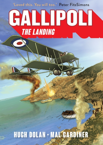 Gallipoli: The Landing - Book