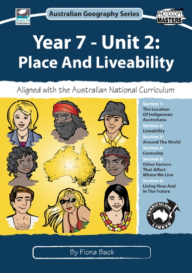 Place and Liveability: Year 7                                                                        - Teacher Resource