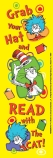 Dr Seuss 'Grab Your Hat' Bookmarks