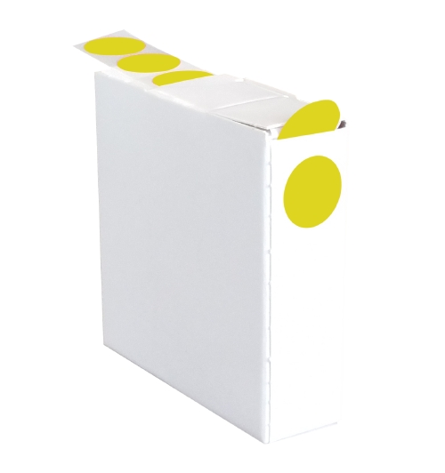 Book Dots Yellow - 14mm