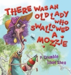 There Was an Old Lady Who Swallowed a Mozzie Board Book