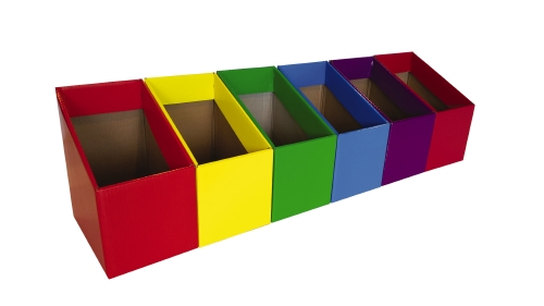 BOOK BOX 6-PACK                - Pack