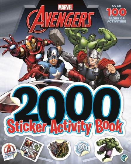 Avengers 2000 Sticker Activity Book