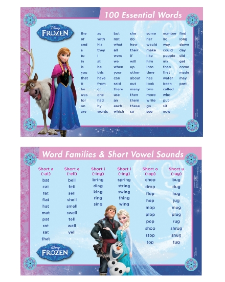 Product Frozen Essentialwords Deskmat Stationery