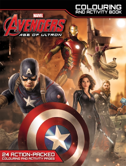 Avengers Age Of Ultron Colouring And Activity Book