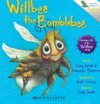 Willbee the Bumblebee Board Book (with CD)
