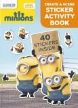 Minions Create a Scene Sticker Activity Book