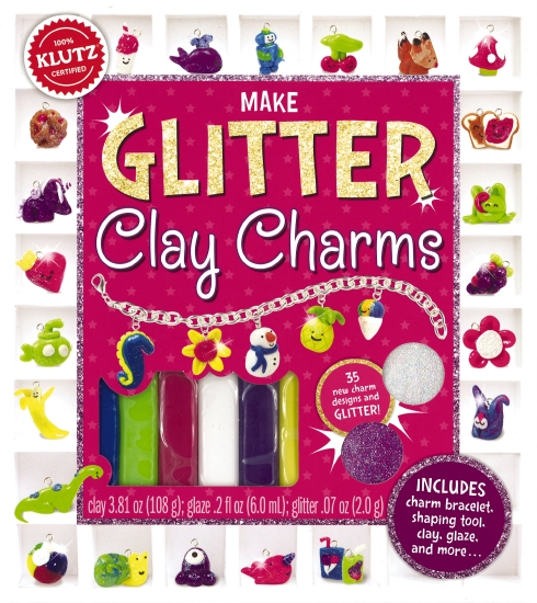 Klutz: Make Glitter Clay Charms - Book