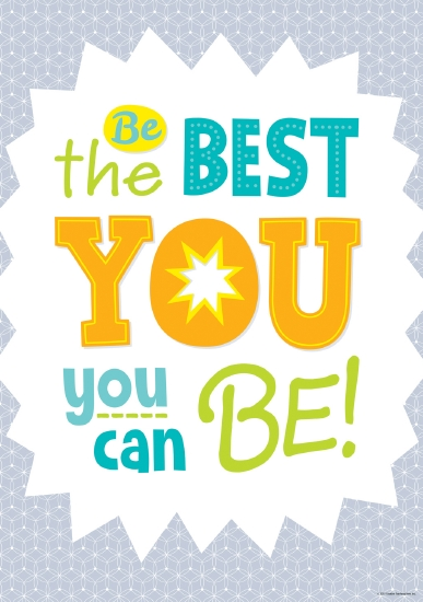 Product Painted Palette Be The Best You You Can Be Poster