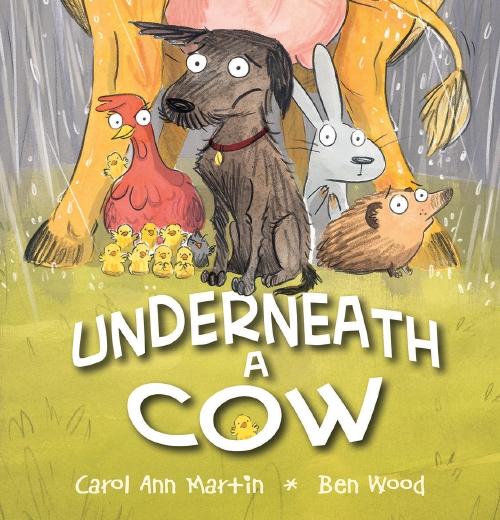 UNDERNEATH  A COW