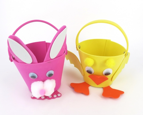 Foam Easter Basket Kit                                                                               - Arts & Crafts