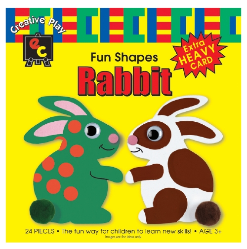 Fun Shapes: Rabbit                                                                                   - Arts & Crafts