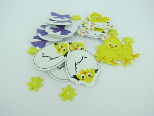Foam Easter Chick Stickers                                                                           - Arts & Crafts