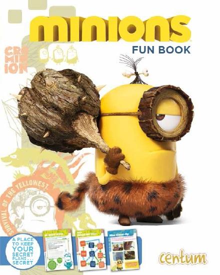 Minions Fun Book - Book