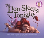 Lion Sleeps Tonight Board Book (with CD)