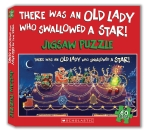 There Was an Old Lady Who Swallowed a Star + Jigsaw Puzzle