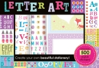 Letter Art Sticker Box