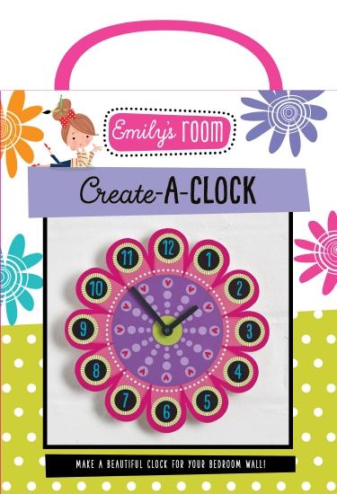 Emily's Room: Create-A-Clock - Book