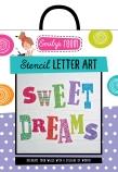 Emily's Room: Stencil Letter Art