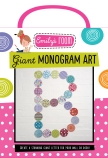 Emily's Room: Giant Monogram Art