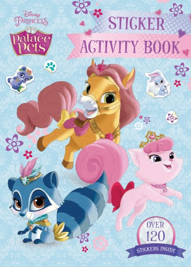 Palace Pets Sticker Activity Book (Updated Edition)