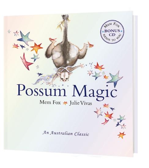 Possum Magic (with CD)                                                                               - Book