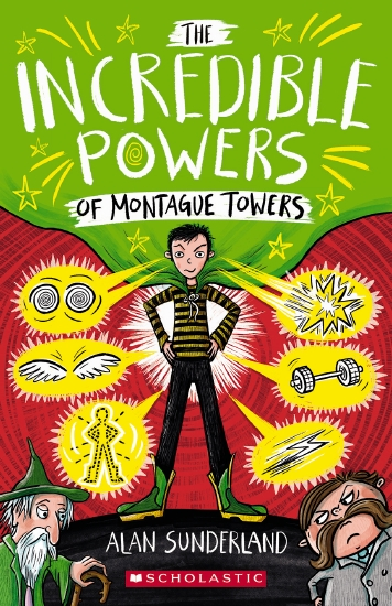 INCREDIBLE POWERS MONTAGUE TOW