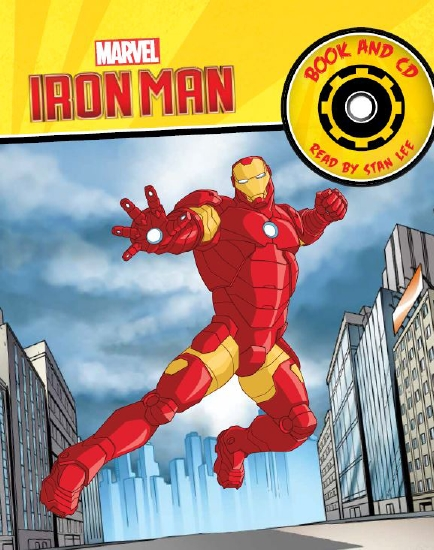 IRON MAN STORYBOOK AND CD