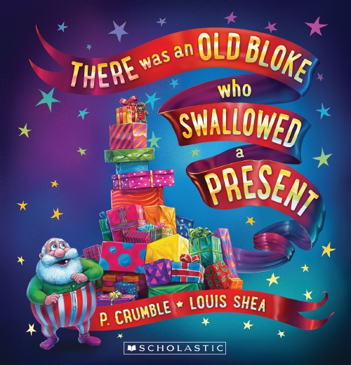 There Was an Old Bloke Who Swallowed a Present Lenticular