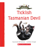TICKLISH TASMANIAN DEVIL