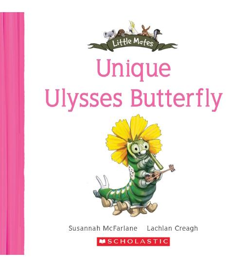 Little Mates: Unique Ulysses Butterfly