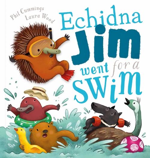 ECHIDNA JIM WENT FOR A SWIM HB