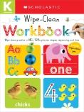 Wipe-Clean Workbook Kindergarten