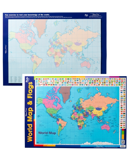 Product world map with flags poster teacher resource school world map with flags poster gumiabroncs Image collections