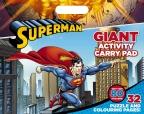 DC Comics: Superman Giant Activity Pad Book Bonanza Sep 2015