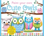 Paint Your Own Cute Owls