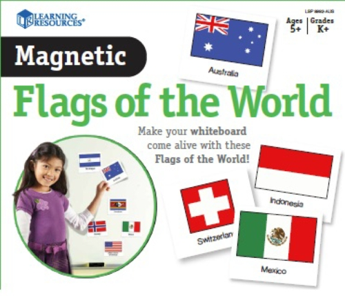 Magnetic Flags of the World                                                                          - Teacher Resource