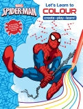 Marvel Learning: Spider-Man: Let's Learn to Colour