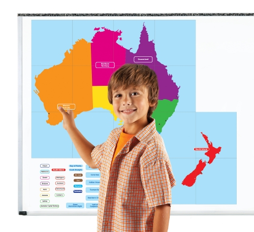 magnetic map of australia and new zealand teacher resource