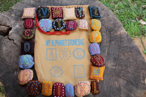 My Alphabet Stones Game