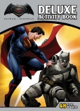 Batman vs Superman: Dawn of Justice Deluxe Activity Book