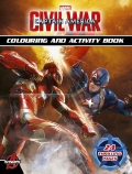 Captain America: Civil War Colouring and Activity Book