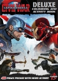 Captain America: Civil War Deluxe Colouring and Activity Book